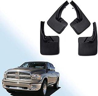 Dodge Ram 1500 2500 Chrome D/ÉFLECTEURS Pare-Soleil Pluie Garde Garnitures ext/érieures Cover Set 2002 2003 2004 2005
