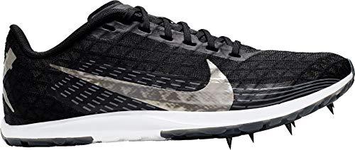 Nike Zoom Rival XC 2019 Cross Country - Zapatillas para mujer (talla M), color negro y plateado, M, Negro/Plateado