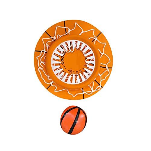 YUY Aro de Baloncesto para Interiores Mini Portátil Interesante Divertido Juguete de Baloncesto para Interiores Juego de Deportes Juego de Pelota de Tiro Montado en El Techo