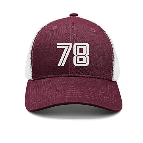 lymknumb Classic Baseball Cap, 78 Big Foam Mesh Truck Cap Mesh Back Ajustable Cap Orange