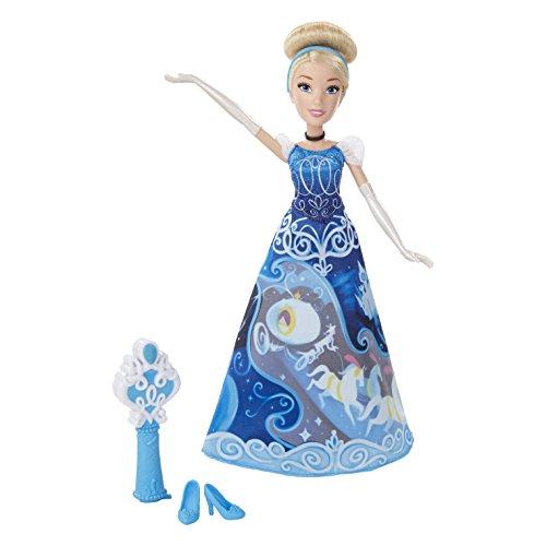 Hasbro Disney Prinzessin B5299ES0 - Cinderella in magischem Märchenkleid, Puppe