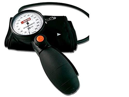 Tokio Aneroid Sphygmomanometer, professionelle Blut Druck Messgerät, schwarz Manschette und Tasche