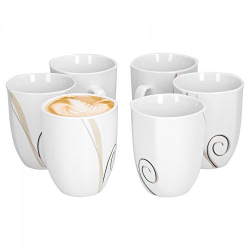 Van Well 6er Set Kaffeebecher Theresa 33cl