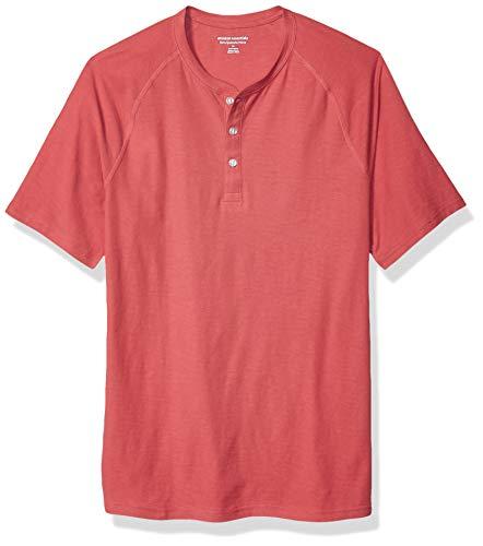 burgundy US XL maglia termica stile Henley da uomo Goodthreads a maniche lunghe Marchio EU XL - XXL Viola