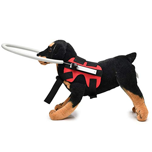POHOVE - Pettorina per cani ciechi per cani e gatti, con anello di protezione anti collisione.