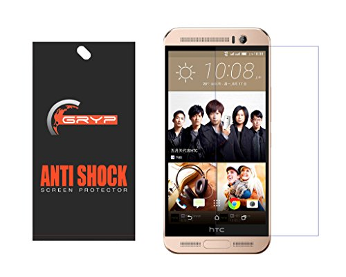 GRYP™ Premium HD Flexible AntiShock Screen Protector for HTC One ME Dual sim