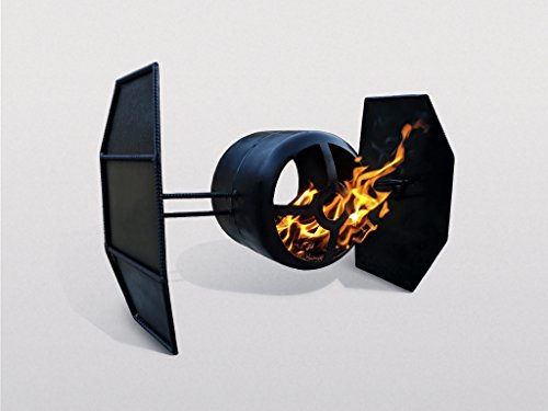 Fire Pit Plans DIY Star Wars Fighter Outdoor Garden Backyard Patio Heater Decor
