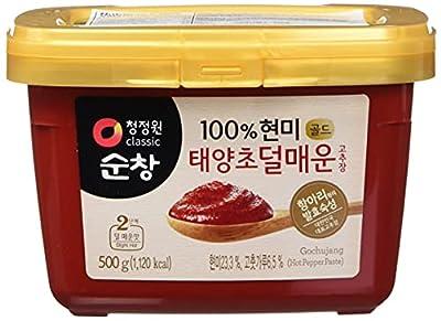 Chung Jung One Sunchang Gochujang 500 Gram Mild Spice Pack of 10