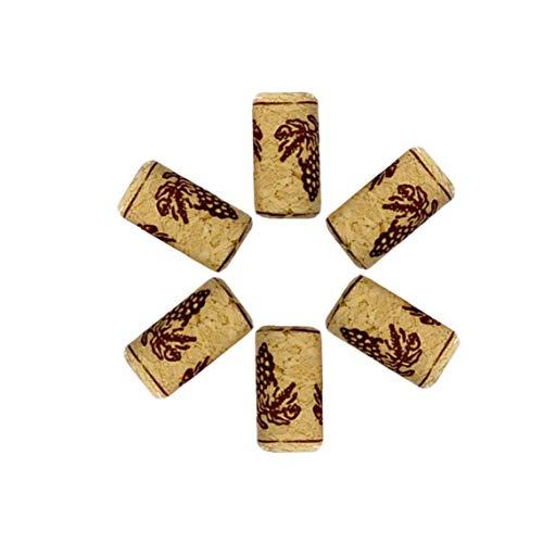 Yililay Tapón, 3pcs Tapones de corchos de Botella Populares Taponeras Madera Corchos de la Novedad del Corcho del Vino