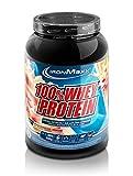 IronMaxx 100% Whey Protein – Whey Proteinpulver auf Wasserbasis – Eiweiß Pulver mit Erdbeere-Weiße Schokolade Geschmack – 1 x 900 g Dose