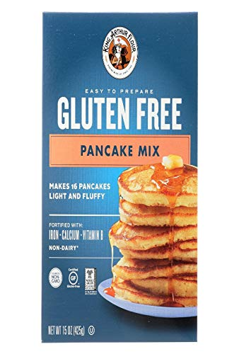 KING ARTHUR MIX PANCAKE GF15 Ounce Pack of 3