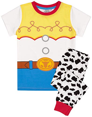 Disney Toy Story Pyjamas Girls Jessie Costume T Shirt Long OR Short Bottoms 3-4 Years