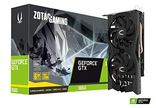 ZOTAC Gaming GeForce GTX 1660 6GB GDDR5 192-bit Gaming...