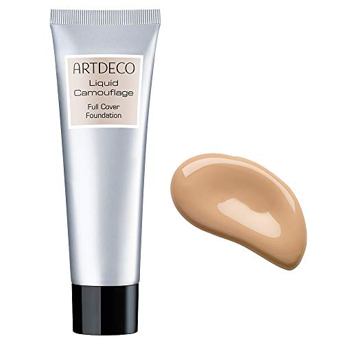 ARTDECO Liquid Camouflage - Flüssiges Camouflage Make-up - 1 x 25 ml, Nr. 46 - dune sand