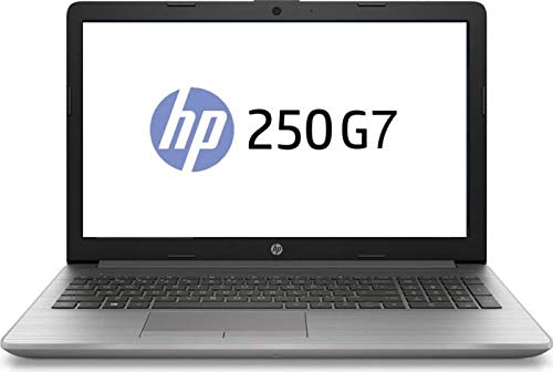 HP (15,6 Zoll HD matt) Laptop (Intel Celeron N4000 1.1 GHz DualCore, 4GB RAM, 256 GB SSD, Intel UHD Graphics 600,WLAN, Bluetooth, HDMI, USB 3.0, DVD-Brenner, Windows 10 Pro) Silber