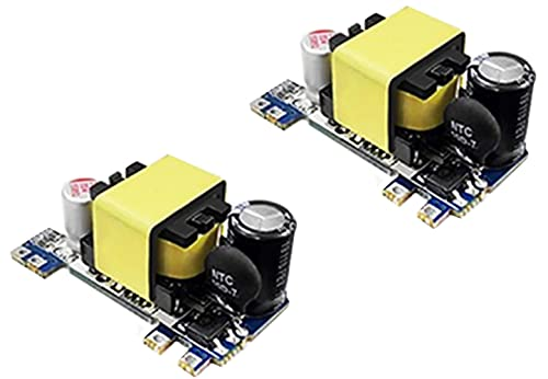 TECNOIOT 2 pieces AC-DC 24 V 500 mA low ripple 220 V AC switching power supply modules