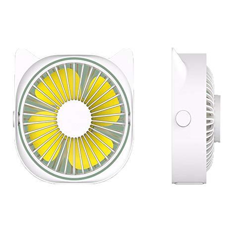 HGTRSDE Ventilador Portátil De Mano, Mini Ventilador USB con Ventilador De Batería Recargable De 1200 MAh (3 Velocidades) para Exteriores E Interiores