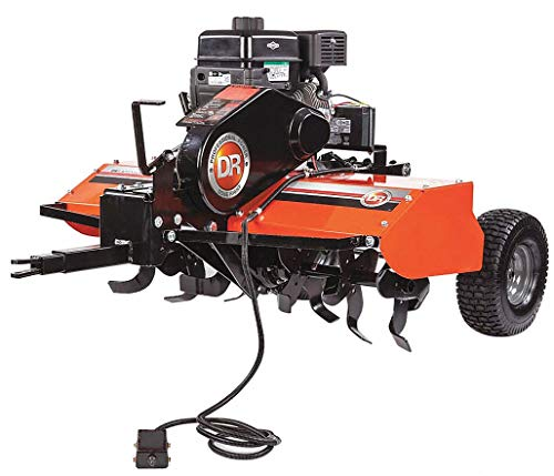 Roto-Hog Tow Behind Tiller, 7-1/2' Length of Tines, 208cc Engine Displacement, 10' Tilling Depth