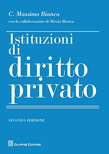 Istituzioni di diritto privato