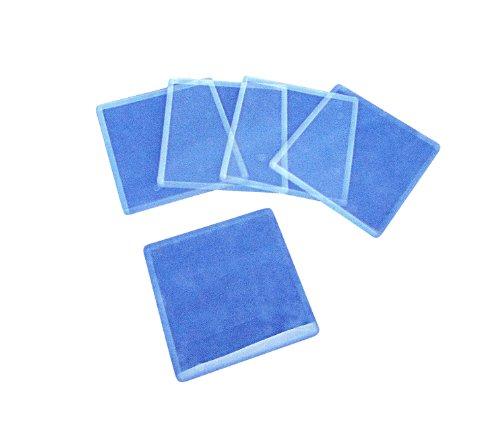 Ajax Scientific - BI208-0022 Plastic Cover Slip, 22mm Length x 22mm Width (Box of 100)