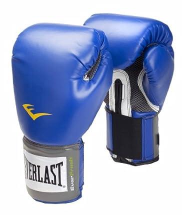 Everlast Pro Style, Guantes de boxeo, Azul, 10 oz