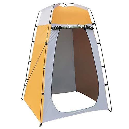 Camping Tienda de tiendas de campaña al aire libre Tienda de vestífuelas, impermeable portátil para arriba tiendas de inodoro para camping Biking al aire libre Senderismo Refugio al aire libre Refugio