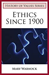 Book cover: Ethics Since 1900 by Mary Warnock