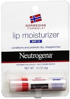 Neutrogena Lip Moisturizer SPF 15 (Pack of 6) Personal Healthcare / Health Care