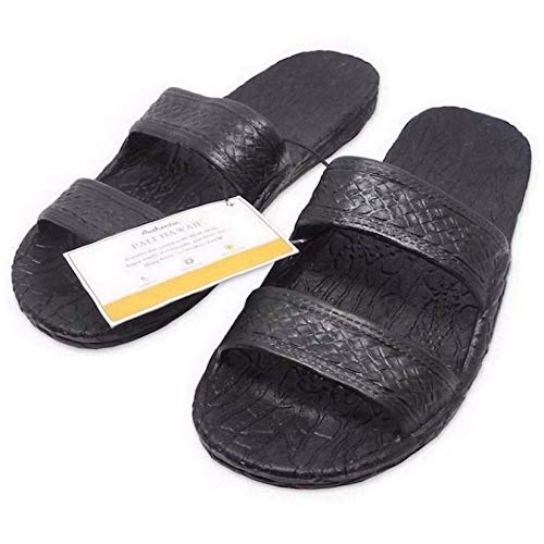 Pali Hawaii Black JANDAL + Certificate of Authenticity (9)