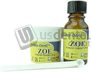 Pro-Line - ZOE Zinc Oxide Cement Reinforced Material (with fiber) 21gr Powder / 7.5ml Liquid kit #010-080 Zinc Oxide Eugenol Pro-Line - Oxido de Zinc Eugenol Cemento de Ma 115738 Us Dental Depot