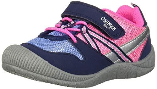 OshKosh B'Gosh Boys Sneaker, Navy, 8