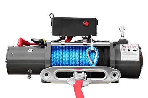 Jws - Cabrestante eléctrico 5900kg 12v ??12 volt winch motor con cuerda...
