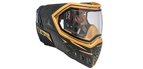 Empire EVS_Noir_Gold Paintball-masker, uniseks, volwassenen, zwart, eenheidsmaat