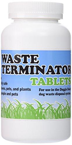 Doggie Dooley Waste Terminator Tablets 100/Bottle- by Doggie Dooley