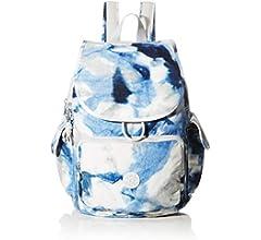Kipling - City Pack, Mochilas Mujer, Azul (Tile Print), 32x37x18.5 centimeters (B x H x T): Amazon.es: Zapatos y complementos