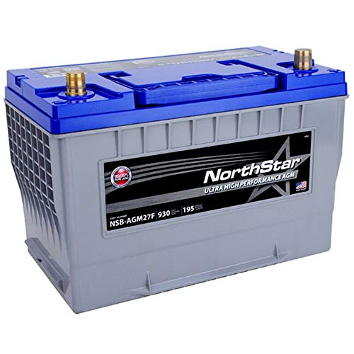 NORTHSTAR Pure Lead Automotive Group 27F Battery NSB-AGM27F
