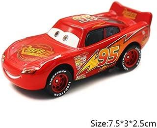 Disney Disney Pixar Cars 2 3 No.10 Rip Clutchgoneski Lightning McQueen Mater 1:55 Diecast Metal Alloy Model Car Kid Birthday Gift Boy Lightning McQueen 1