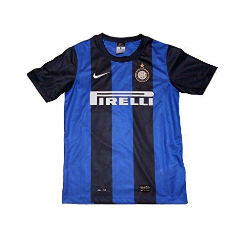 Nike FC Inter trikot home stadium kindes 2012/13 10/12 anni - 152cm, Schwarz