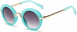 YYEB Round Metal Frame Sunglasses Children Boys Girls Uv400 Glasses Eyewear Shades Goggles,turquoise