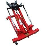 INTBUYING Low Profile Transmission Hydraulic Jack Tire Lift Tools for Auto Shop Repair (2 Tons, 4400lbs)