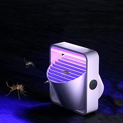 LGOO1 USB Elektro Nein Geräusch keine Strahlung Insektenvernichter Fliegen-Falle Neue intelligente Moskito-Mörder Indoor Elektro-Schädlingsbekämpfungs Flycatcher Start Mute Betrieb UV-Licht 360 ° Aper