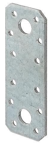 GAH-Alberts 330088 Flachverbinder, Großpack - sendzimirverzinkt, 96 x 35 mm / 25 Stück