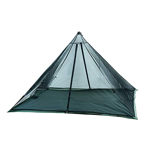 Tactical Gear Mesh Teepee for Wild Haven Hot Tent, Ultralight, 2 Persons