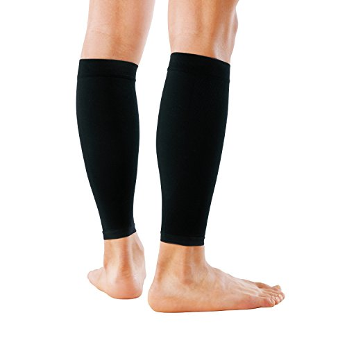 ZAMST 380403 Low Profile Calf Supporter Body Mate for All Sports (Includes Both Legs) L Black