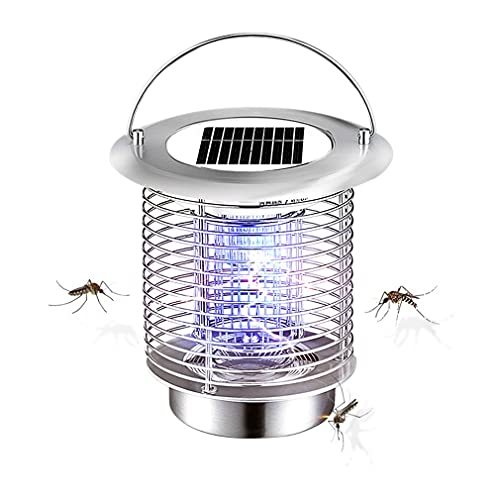 Lámpara de matanza de mosquitos de energía solar, protección ambiental impermeable, apta para interiores y exteriores