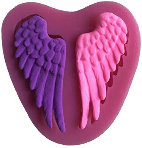 Muffin Cupcake blikken vormen bakken schimmel chocolade zoete vormen vleugels vorm 3D siliconen taart mal voor taart Fondant decoreren