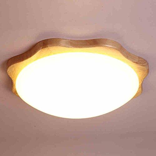 CAIXIA-Unterputz die Decke des runden LED kreativen Lernen/Schlafzimmer/Veranda Lichtkanales Inklusive Glühbirne (größe : Medium -38cm)
