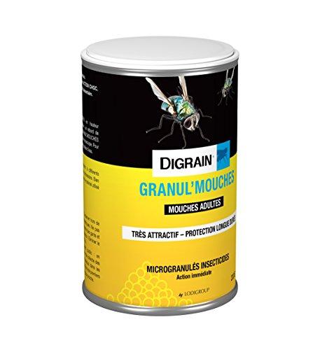 DIGRAIN I1007 GRANUL'MOUCHES, Jaune, 0,75 x 0,75 x 11,5 cm