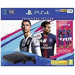 PS4 1TB + FIFA 19 - Edición Deluxe+Nacon - Mando Compacto para PS4 ...