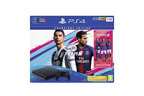 PlayStation 4 (PS4)- Consola 1 TB + Fifa 19 - Edición Deluxe